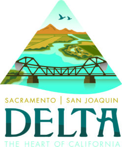 Sacramento-San Joaquin Delta, the Heart of California Logo